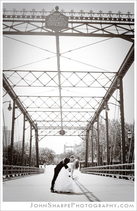 Hennepin Avenue Bridge MN Wedding Photography