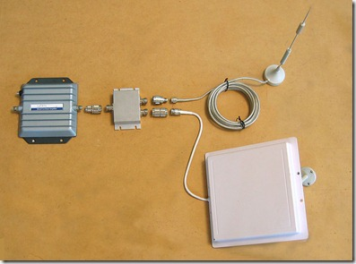 Antenna Splitter, amp, duall band, panel