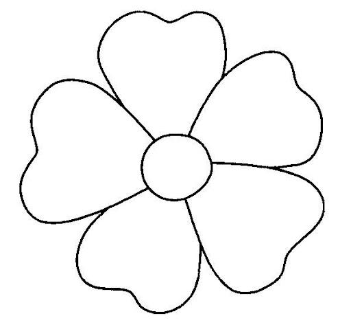 Molde de flores para recortar - Imagui