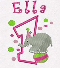 ella elephant mockup