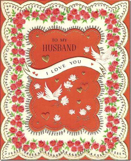 MILLER, Harold Leslie MILLER Valentine's Day Card 01-A