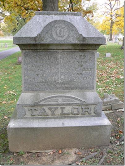 Taylor, H & Auguste C