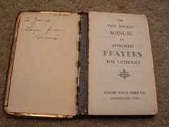 CAHILL, John Francis CAHILL Bible 02
