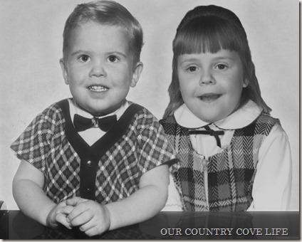 ken and elaine as kids