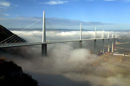 Millau Bridge (France): World's Tallest Vehicular Bridge