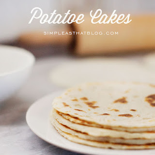 Norwegian Lefse or Potatoe Cakes