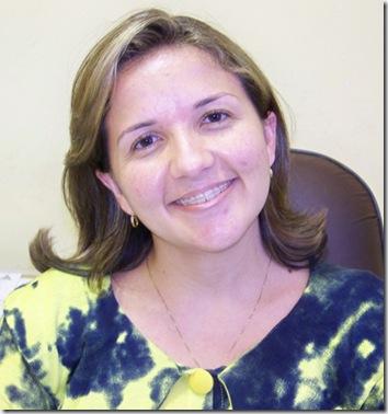 LIDIANE MICHELE GARCIA, SECRETÁRIA DE SAÚDE DE AREIA BRANCA