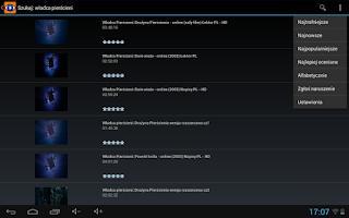 Screenshot of Filmove (darmowe filmy CDA)