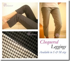 cheq leggings