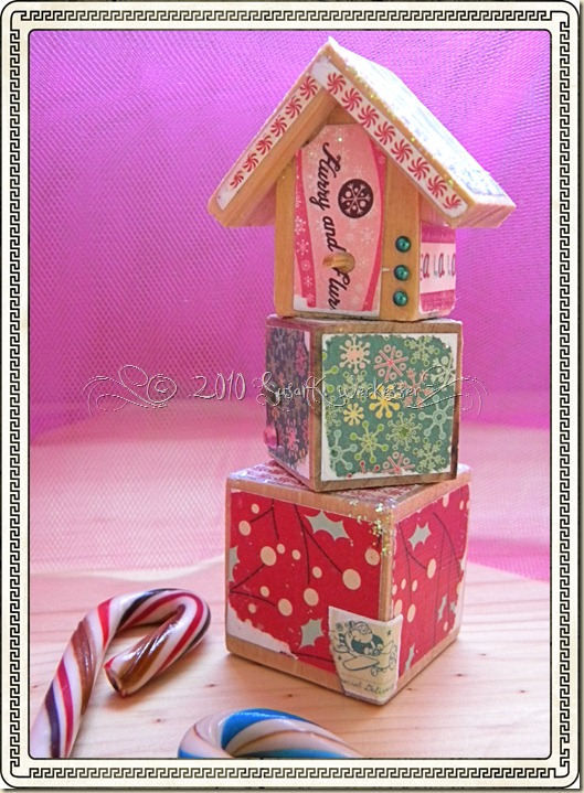 Cosmo Cricket bird house