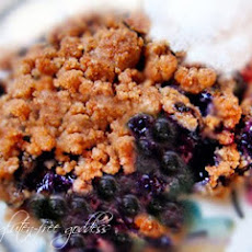 Easy Gluten-Free Blueberry Crisp