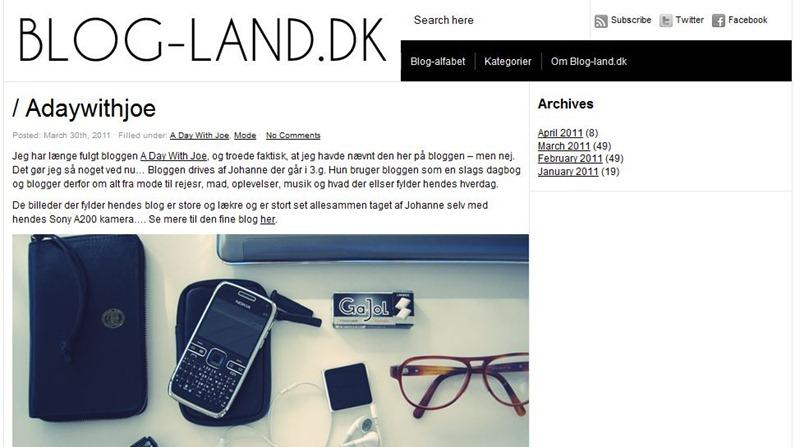Blog-land.dk