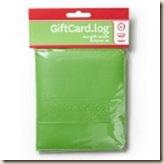 gift card log