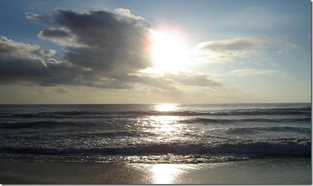 شروق الشمس من الساحل خلف فندق رويال حمامات