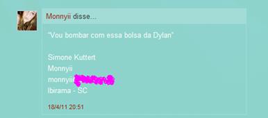 ganhadora Dylan