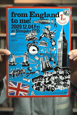 from England to me! VOL012のフライヤー