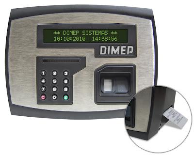 Dimep PrintPoint II - Bobina para relógio de ponto - Promtec