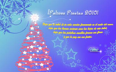 tarjeta navidad   Felices Fiestas