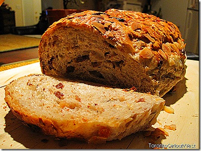 loaf - fruit and nut at home