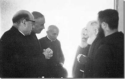 Padre Pío y Arzobispo Lefebvre
