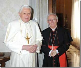 El Santo Padre con el Card Cañizares