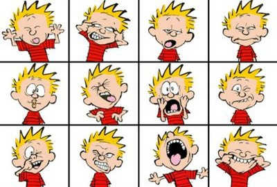 Calvin Faces