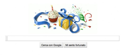 Google Doodle compleanno