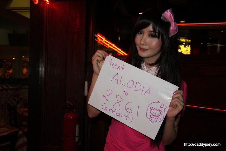 Text Alodia to 2861