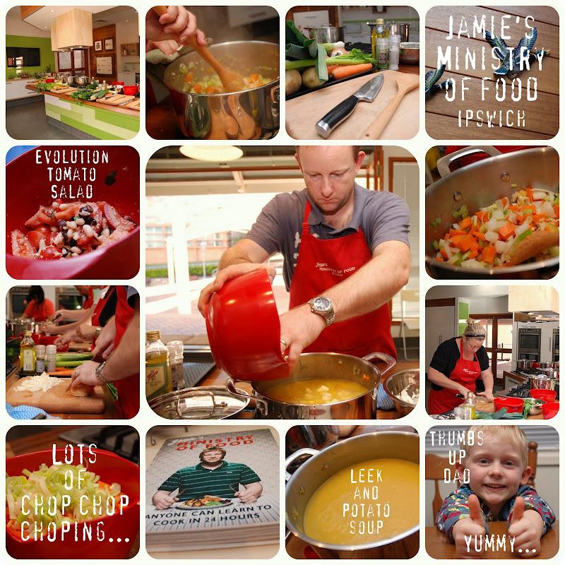 Picnik collage Jamie\'s Ministry of Food week 2
