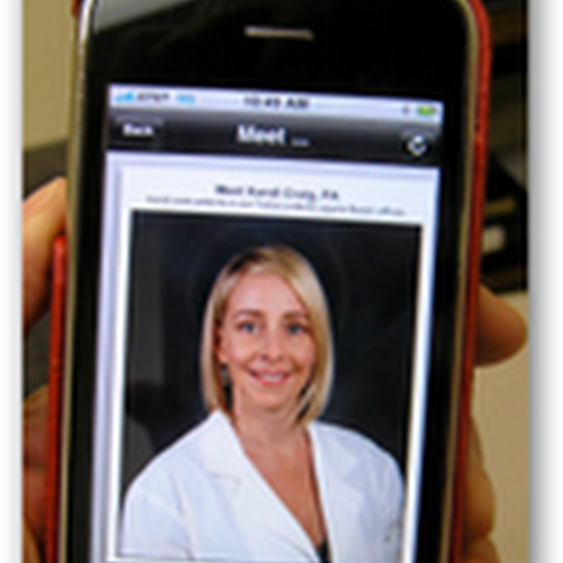 Orange County Concierge Doctor Practice Creates an Iphone Application – 60-65 Year Old Patients Really Like Their Online Concierge Services