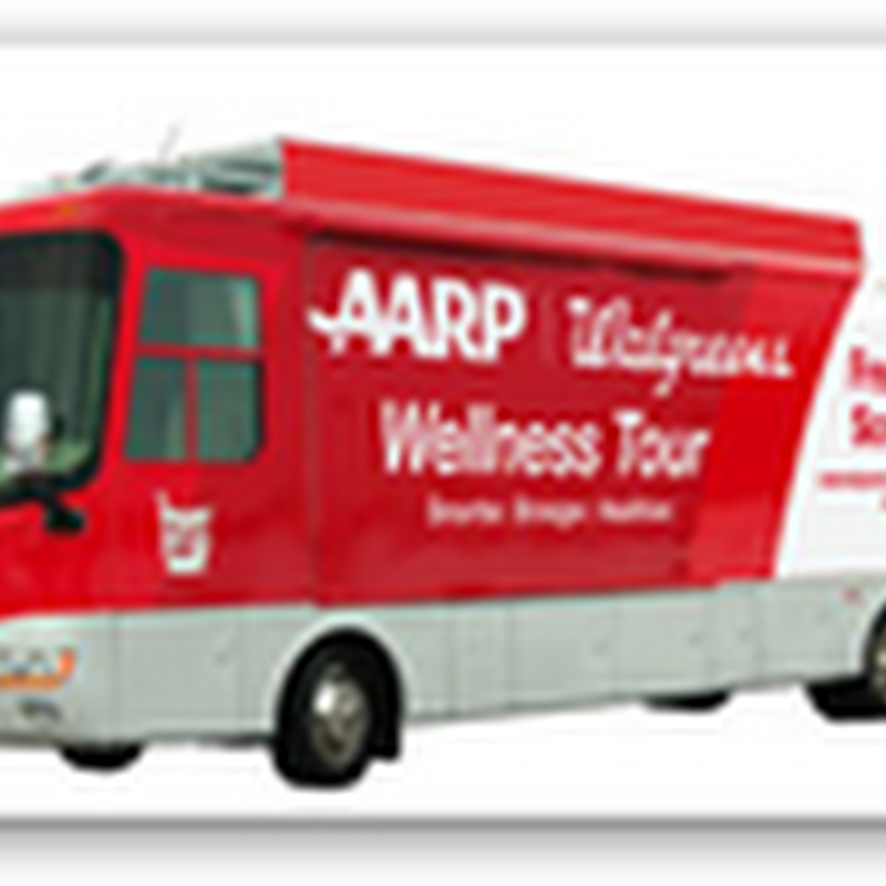 AARP and Walgreens Sending Out a Fleet of Buses to Offer Free Screenings