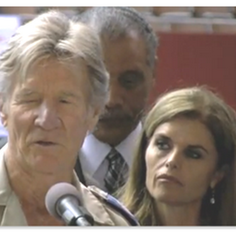 Remote Area Medical Los Angeles Kicks Off First Day – Press Conference With Maria Shriver and Stan Brock