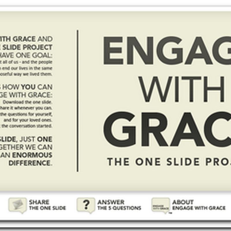 Engage with Grace – The One Slide Project