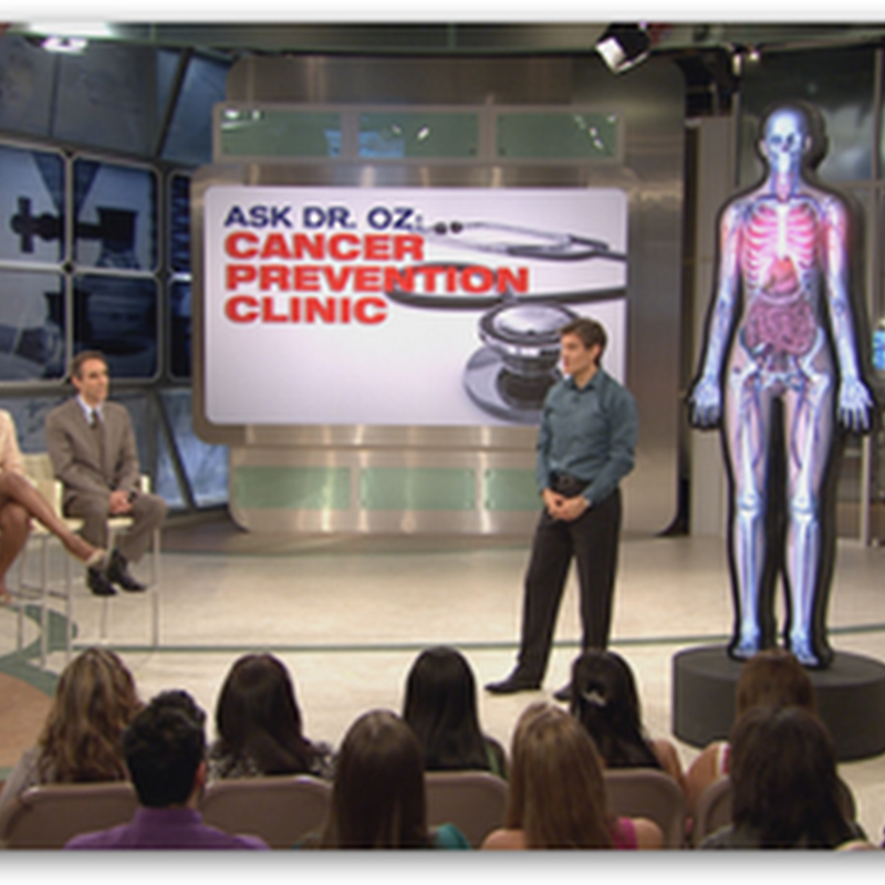 Dr Oz on Friday May 21st – TV Show Focuses on Doctors Who Have Battled Cancer