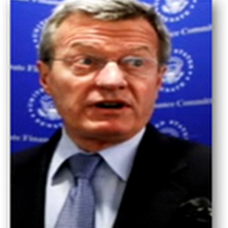 Max Baucus – He Calls Himself The Maintenance Senator Related to Healthcare