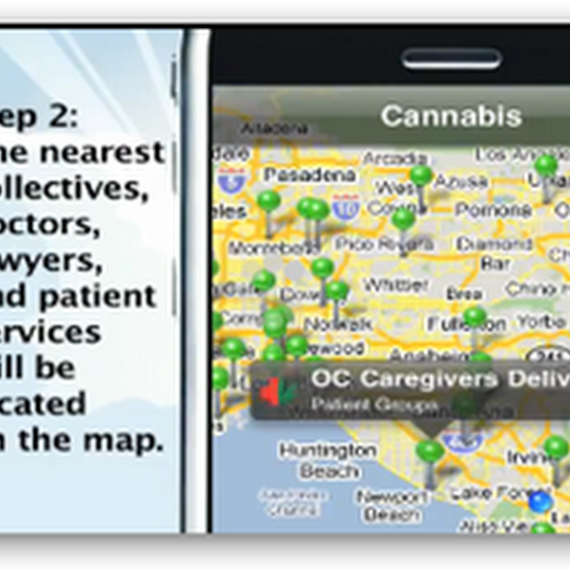 New iPhone Application – Locate the nearest Cannibus Store – Medical Marijuana