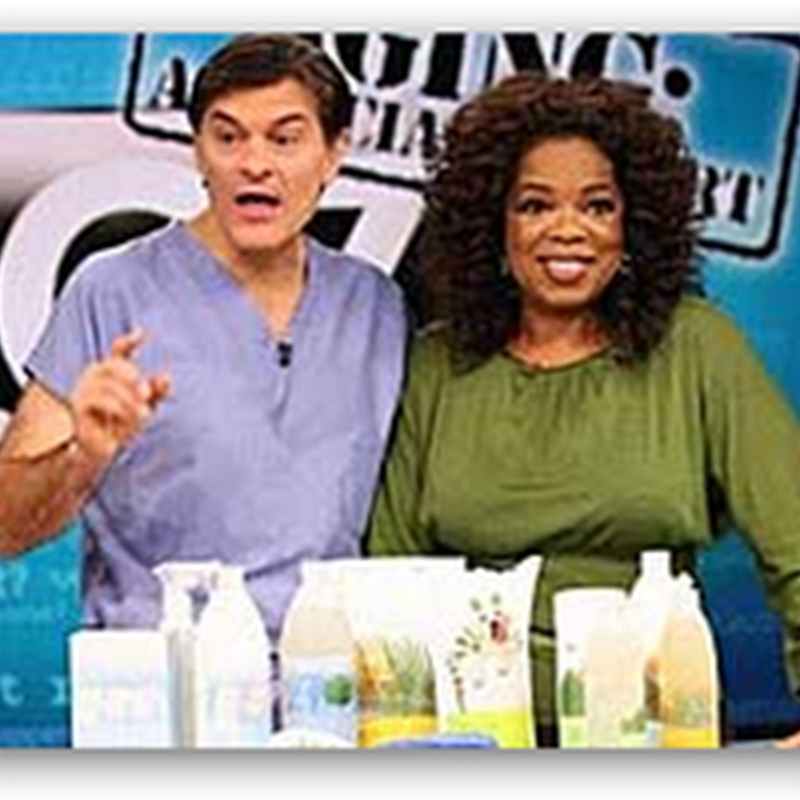 Oprah and Dr. Oz Go After the Resveratrol Anti-Aging Scammers