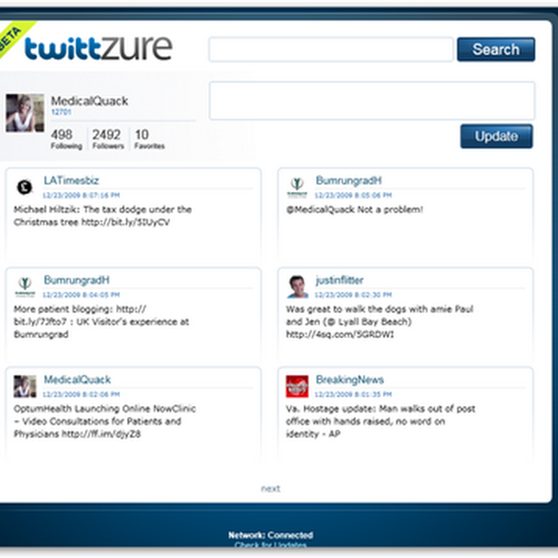 TwittZure - Twitter on Windows Cloud – The Azure Platform