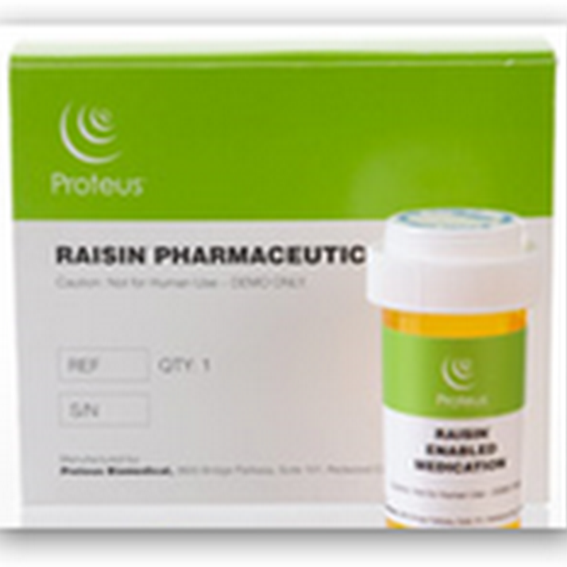 Proteus Biomedical Announces European CE Approval–Bluetooth Communication Via Chip on a Pill aka The Raisin