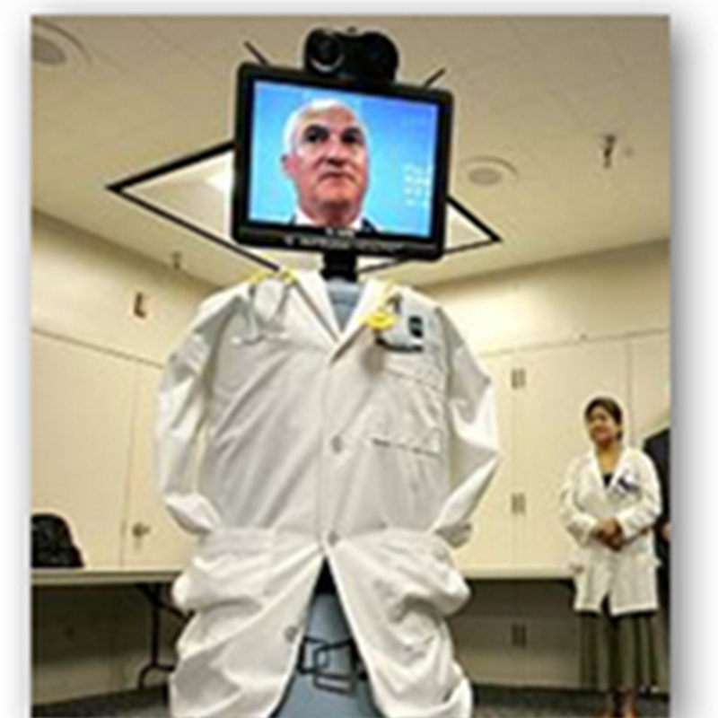 Robots Showing Up Everywhere, At the Hospital, At Board Meetings and More With Tele Presence Technology