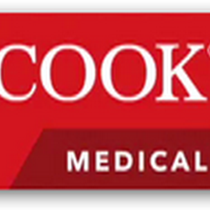 Cook Medical Expands Antibiotic-Impregnated Catheters–Help for Preventing Hospital Acquired Infections