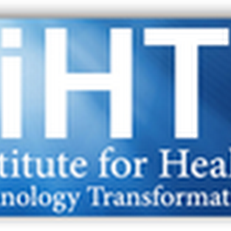 Institute for Health Technology Transformation Convention–Fall 2010 Convention - Insights From The Medical Quack