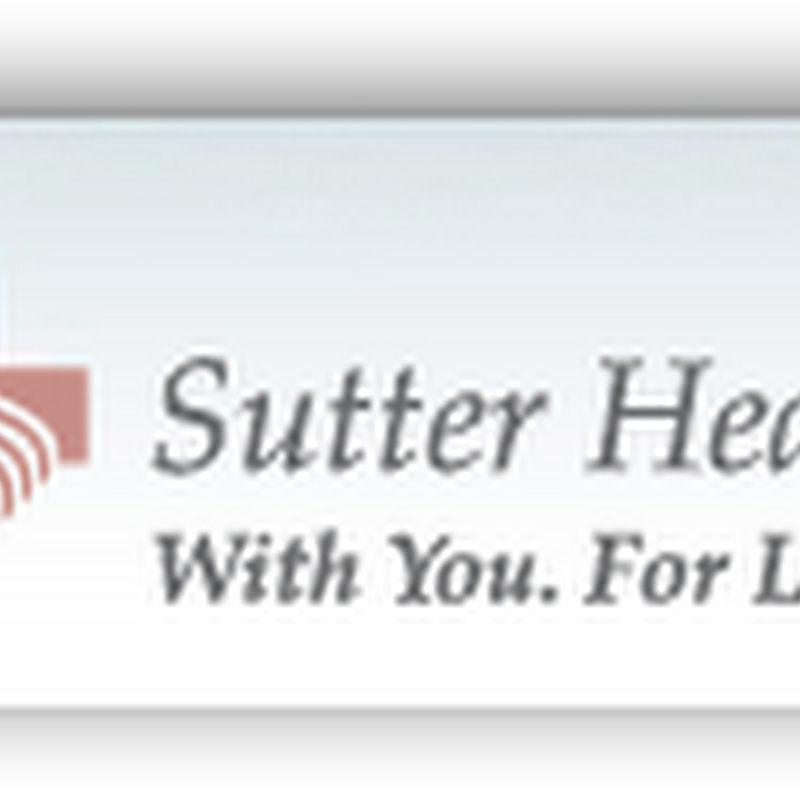 "Sutter Health Offers ""MyChart PHR for the Iphone"" mHealth (Epic Medical Records)"