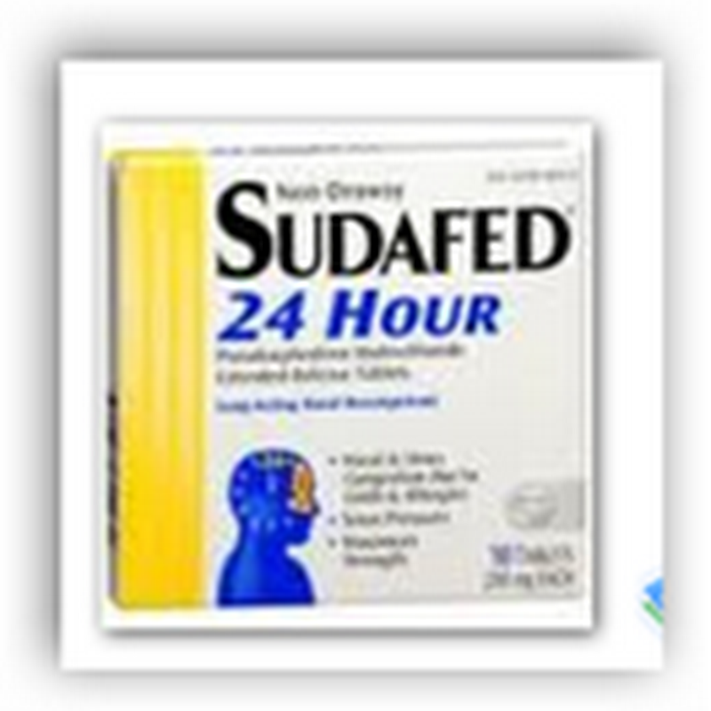 J&J Recalls 667,632 Sudafed Packages Over Labeling Error–Harmless Typo