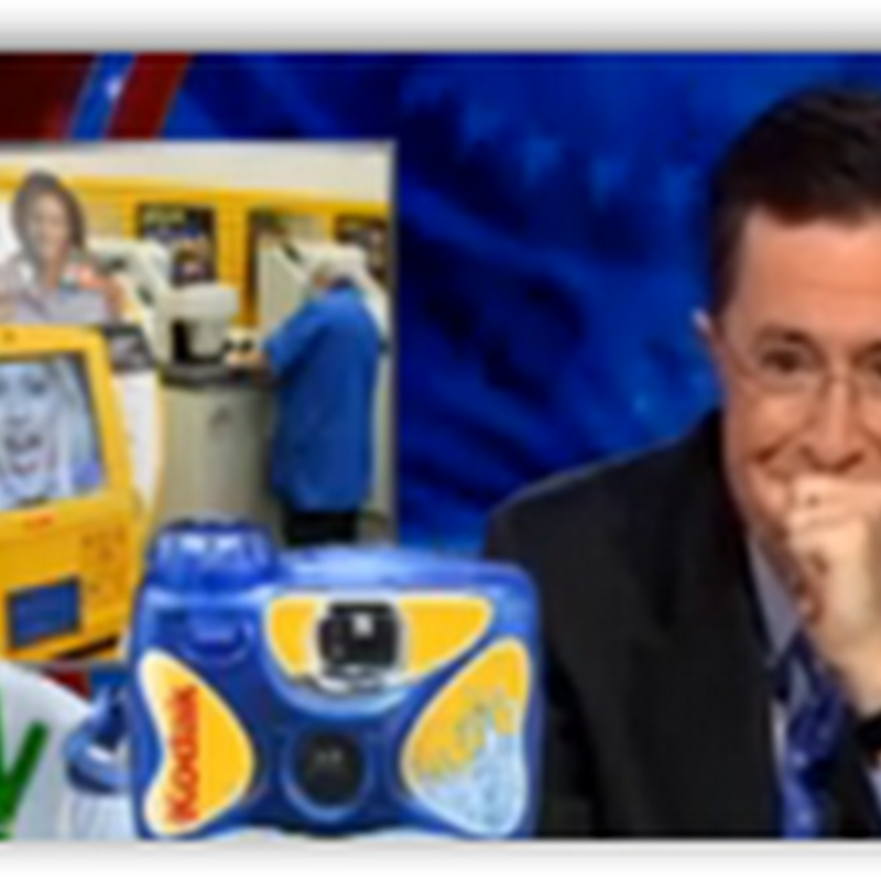 Pap Smears and Colonoscopies At Walgreens–The Colbert Report