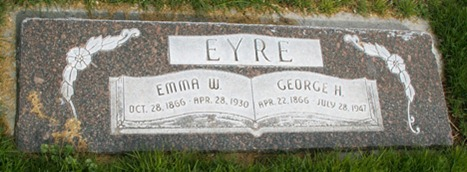 George Hopkin Eyre's Grave