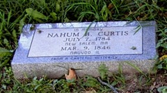 Grave Site of Nahum Curtis
