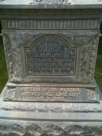 William Austin's Headstone