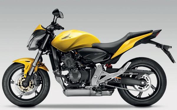 Hornet 2011 2012 amarela abs