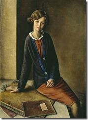 Portrait de Jeune Fille--1932--François Emile Barraud